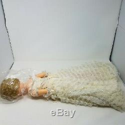 1959 Deluxe Reading 25 Bonnie Bride Doll In Original Box Wedding Dress Veil 138