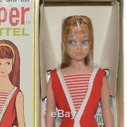 1960's Barbie Skipper Doll Mint in Box MIB Vintage #950 Titian Red Little Sister