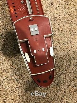 1960s Texaco Toy Tanker North Dakota Plastic Oil Ship Vintage For Parts With Box