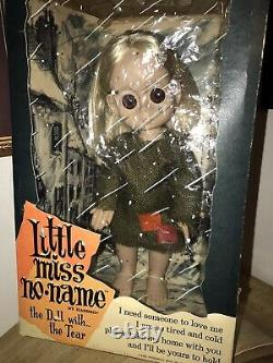 1965 Hasbro Little Miss No Name Doll ALL Orig Box Dress Undies Tear Pristine