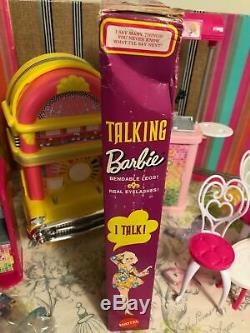 1969 TALKING BARBIE Doll TITIAN Real lashes New in Box #1115 Vintage 1960's