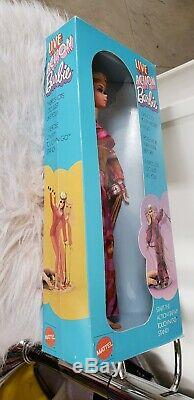 1970 LIVE ACTION Barbie Doll Vintage 1970's Mod barbie #1155 in mint box NRFB