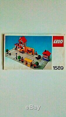 1978 Lego Town Square vintage set (1589), Original Instructions, no box