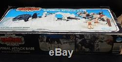1980 vintage Star Wars Hoth IMPERIAL ATTACK BASE Kenner action playset withBOX esb