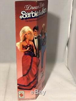 1982 Mattel Barbie Dream Date P. J. Doll 5869 Steffie Face Never Removed From Box