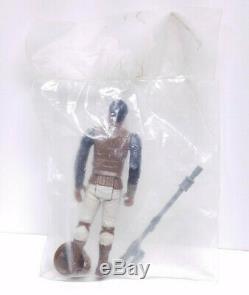 1983 SEARS 3 PACK BAGGIE Vintage Star Wars Figures Set & Box with Acylic Display