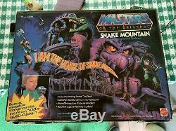 1983 VINTAGE MOTU Snake Mountain He-Man Playset Unopened In Box