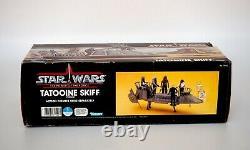 1984 Star Wars POTF Tatooine Skiff Vintage Kenner Vehicle Mint with Box, Map