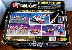 1985 THUNDERTANK withVINTAGE BOX 100% COMPLETE VINTAGE LJN THUNDERCATS