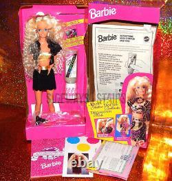 1993 JEWEL & GLITTER BARBIE Mattel sequins vest skirt tri-lingual box 90s Selena