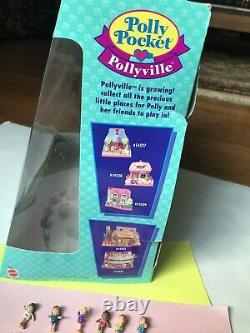 1995 Vintage POLLY POCKET Bluebird Pop-up Party Clubhouse 100% Complete BOX