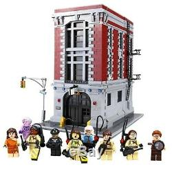 2 LEGO Ghostbusters Sets Firehouse Headquarters (75827) + Ecto-1 (21108)
