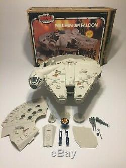 $50 OFF STAR WARS MILLENNIUM FALCON COMPLETE ESB Box Vintage Working Kenner 1979
