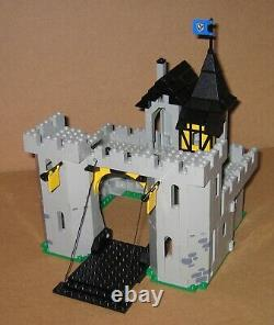 6074 LEGO Black Falcons Fortress 100% Complete w Box & Instructions EX COND 1986