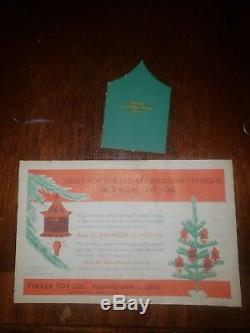 70 Vintage Christmas Spinner Twinkler Ornaments in Original Boxes Youngstown HTF