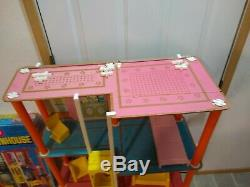 70s Barbie 1975 Townhouse Doll house Playset Box furniture used condition inbox