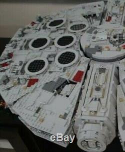 75192 Star Wars Millennium custom Model blocks (Lego Compatible Pieces)