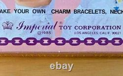 80s Charms Vintage Imperial Designer Charm Set Mint in Box (Bell Plastic Charms)