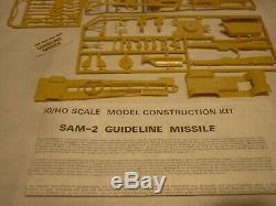 A Vintage Airfix un built plastic kit of a SAM -2 Missile, boxed