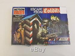 Action Man Escape from Colditz Palitoy Vintage 70s Board Game Boxed Manuals Toy