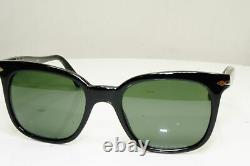 Authentic PERSOL Mens Boxed Vintage Sunglasses Black Square 2999 95/31 30019