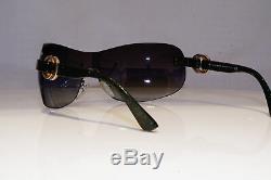 BVLGARI Womens Boxed Vintage 1990 Sunglasses Green Shield 8082 984/8G 25487
