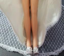 Barbie Doll Beautiful Bride 1976 Vintage #9599 Htf No Box Outfit Shoes Bouquet