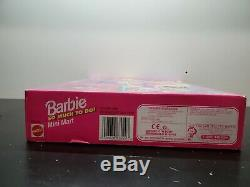 Barbie Mini Mart Set 1995 Grocery Store Toy MINIATURE GROCERIES RARE NEW IN BOX