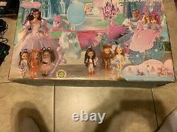 Barbie Swan Lake Huge Lila Unicorn & Carriage Set NEW in BAD SHAPE Box