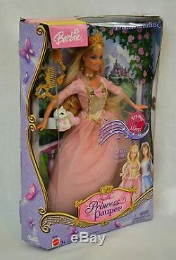 Barbie as Princess and The Pauper Princess Anneliese. New In The Box