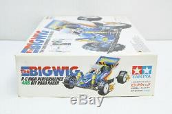 Bigwig TAMIYA Radio Control Car 1/10 Vintage 1986 Original Box Japan