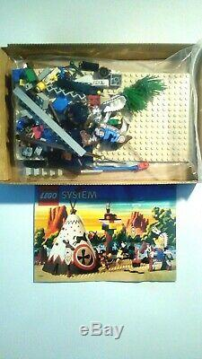 Boxed Vintage Lego 6746 Chief's Tepee Western Set, 100% COMPLETE, Instructions