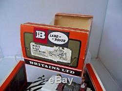 Britains 9377 Safari LWB Land Rover Rare Boxed Vintage Diecast With Figures