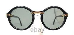 Cartier Cabriolet 80s! Vintage Eyeglasses / Sunglasses with BOX, Original Lens