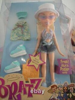 Cloe Bratz Beach Party 2002 Limited Edition New in Box Never Opened