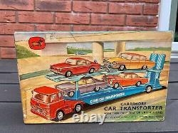 Corgi GS 28 Carrimore Transporter Set In Its Original Box Excellent Rare