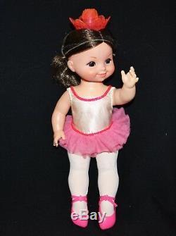 Dancerella Ballerina Doll Mattel Vintage 1978 With Box (Working) 17 Tall