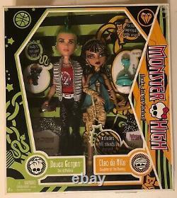 Deuce Gorgon & Cleo De Nile 2009 Monster High Mattel 1st Wave Nice Box