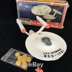 Dinky Star Trek USS Enterprise Space Ship NCC-1701 # 358 Vintage Toy Boxed VGC