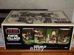 Ewok Village Return of the Jedi Kenner Vintage Star Wars Sealed In Box 1983