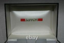 Ferrari Formula Cartier Rare vintage kit grey box plastic tag and warranty bookl