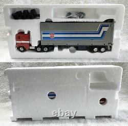 G1 1984 Optimus Prime Boxed 100% Complete Vintage G1 Transformers