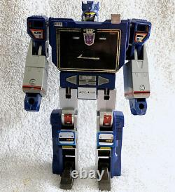G1 1984 Soundwave & Buzzsaw Boxed 100% Complete Vintage G1 Transformers