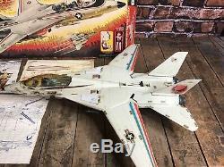 GI JOE SKYSTRIKER XP-14F Vintage Pilot Ace Action Figure ARAH HASBRO BOX 1983