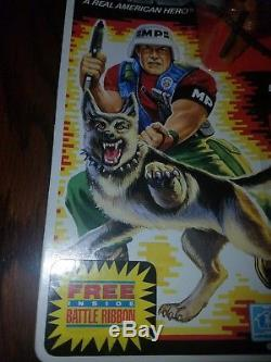GI Joe Law and Order MP with K-9 1986 Rare new in box vintage variant free ship
