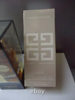 GIVENCHY III Parfum 15ml 1/2oz Vintage 1970s Rare Plastic Case New Near Mint Box