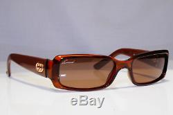 GUCCI Mens Womens Unisex Boxed Vintage Sunglasses Brown GOLD GG 3507 WO204 24773