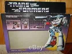 HTF Vintage 1984 G1 Hasbro Takara Transformers Decepticon MEGATRON withBOX! NICE