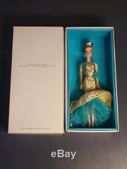 Happy New Year Barbie Doll Holiday Hostess Collection Gold Label Doll new In Box