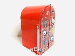 Hello Kitty Sanrio Red Vintage 1994 Storage Case Trinket Box Mini Drawer Rare